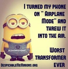 Here we have some of funniest Minions images, quotes and Jokes . If you love these Yellow Capsule looking adorable and funny Minions . Funny Minion Pictures, Funny Minion Memes, Funny Disney Memes, Crazy Funny Memes, Really Funny Memes, Minions Quotes, Funny Jokes, Minions Pics, Minion Sayings