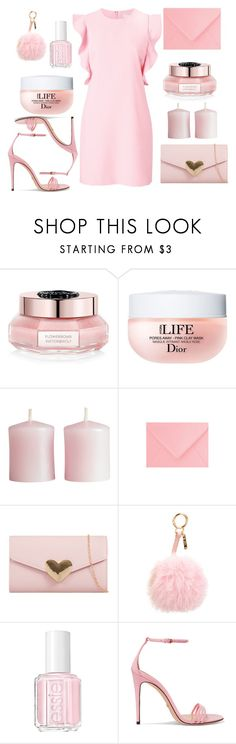 """""""Inspired by Bella"""" by maryamlovesbeauty ❤ liked on Polyvore featuring Viktor & Rolf, Christian Dior, H&M, Fendi, Essie, Gucci and Witchery"""