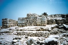 "Megiddo in Israel was one of the most important cities in Old Testament times. Thutmosis describes his conquest of Megiddo as ""the capturing of a thousand towns."" Recent excavations have restored the gateway of Megiddo."