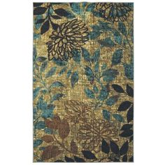 Mohawk Home Mystic Garden Nylon Rug, Multi-Colored