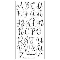 Sophisticated Script Uppercase