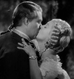 Image result for Jeanette MacDonald and Nelson Eddy kissing