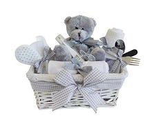 Shimmer Wicker Unisex Child Present Basket / Child Hamper / Ba... www.amazon.co.uk/...... *** See even more by going to the image