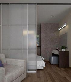 The Best 2019 Interior Design Trends - Interior Design Ideas Condo Interior Design, Studio Apartment Design, Condo Design, Studio Apartment Decorating, Home Room Design, Apartment Interior, Interior Door, Design Design, Design Lounge