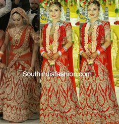 Dhrithi Saharan Marriage Photos