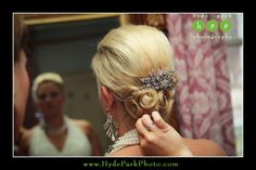 Bling was a focus for this glamorous bride and her winter wedding. Her hair was even adorned with crystals! Wedding at The Barr Mansion. Photos by Austin wedding photographers, Hyde Park Photography, located in Austin, Texas. #ATXweddings  http://www.HydeParkPhoto.com