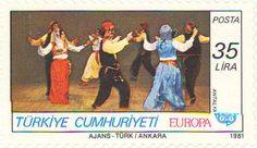 1981 Turkey - Folk dance group from Antalya