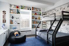 A Classic 7 Pre-War Apartment in NYC Is Renovated by StudioLAB - Design Milk | #boyrsbedroom #kidsbedroom
