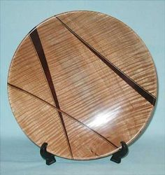 Woodturning Design | Segmented Platter [I would call this laminated, not segmented. like the lack of symmetry in the layup; excellent platter.]