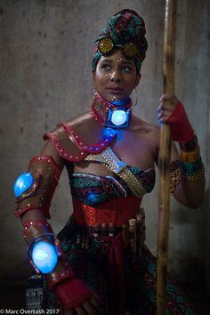 African Steampunk: Safari Guardian by MakeupSiren.deviantart.com on @DeviantArt