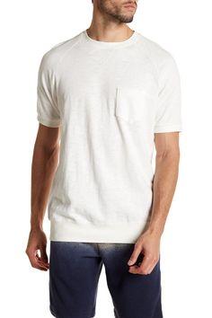 Short Sleeve Baseball Sweatshirt
