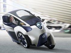 コーナリングが得意、トヨタの超小型EV(動画) « WIRED.jp