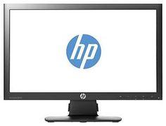 "New HP ProDisplay P201m 20"" LED Backlit LCD 1600x900 5ms 16:9 VGA PC Monitor"