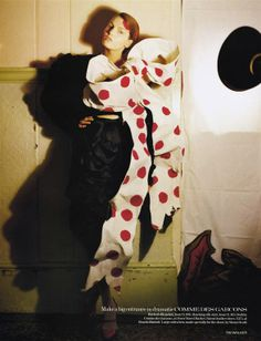 """The Terrier and Lobster: """"The Greatest Show on Earth"""": A British Panto by Tim Walker for Vogue UK"""