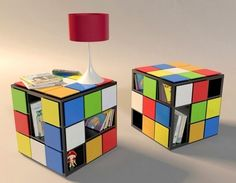 Magic cube coffee table