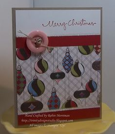 Letters to Santa dsp with a big button a jingle bell. Easy card to do. Cute Cards, Easy Cards, Christmas Photo Cards, Christmas Ideas, Santa Letter, Button Crafts, Jingle Bells, Creative Cards, Cardmaking