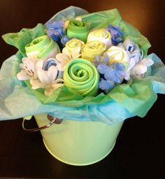 Baby Clothes Bouquet! Too Cute!