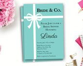 Printable Bride & Co. Bridal Shower Invite ~ Digital Invitation ~ Personalized Bride ~ Wedding ~ Custom