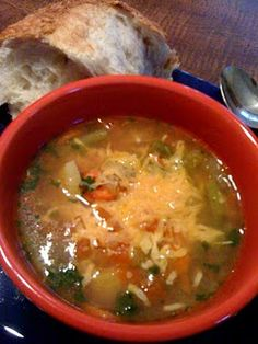 V-10 Soup Perfect for Winter!