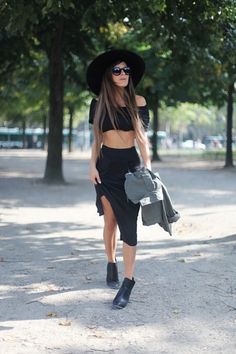 black & black