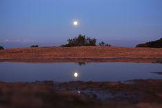 Lua cheia na Pedra Grande em Atibaia - Foto Márcio Masulino