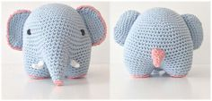 New Crochet Amigurumi Elephant Products Ideas Crochet Elephant Pattern, Crochet Mandala Pattern, Crochet Flower Patterns, Crochet Animals, Crochet Toys, Baby Blanket Crochet, Crochet Baby, Crochet Scarf For Beginners, Crochet For Kids