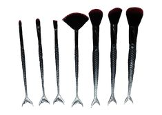 Gothic Siren Makeup Brushes