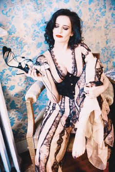 """xavierlightwood: """" Eva Green photographed by Ellen von Unwerth for Glamour Italy """" Actress Eva Green, Star Francaise, Beautiful People, Beautiful Women, Ellen Von Unwerth, Penny Dreadful, French Actress, Woman Crush, Sensual"""