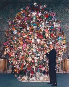 the worlds most fabulous Christmas tree Suzanne Lloyd silent film star Saks Hollywood Harold Lloyd Christmas Tree Christmas Beverly Hills Resident Beverl Hills