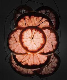 light oranges