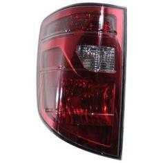 2009-2011 Honda Ridgeline Tail Lamp LH, Lens And Housing