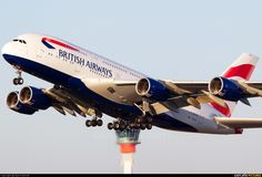 G-XLEA British Airways Airbus A380