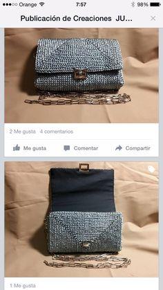 Crochet Clutch, Fashion, Satchel Handbags, Beautiful Things, Trapillo, Crocheting, Moda, Fashion Styles, Fashion Illustrations