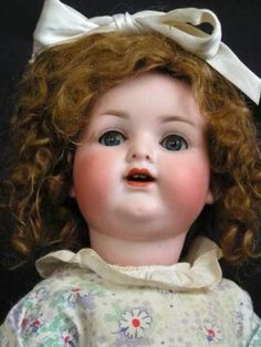 ADORABLE Antique Armand Marseille Doll Character Baby 990 17†HAPPY TOT c1910 ...