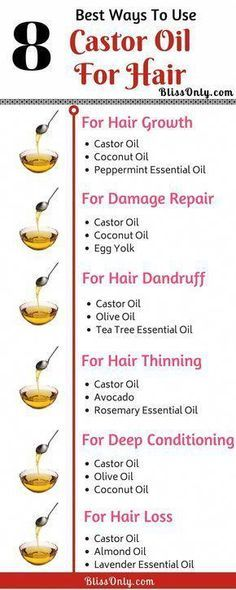 Thicker Hair Remedies 8 best ways to use castor oil for hair. Castor oil is one of the best oil for hair growth, hair thickening, hair repair, deep conditioning. It is also very effective in preventing frizz, hair loss and promoting hair regrowth. Castor Oil For Hair Growth, Castor Oil For Skin, Biotin For Hair Growth, Hair Mask Castor Oil, Tips For Hair Growth, Tips For Long Hair, Tips For Growing Hair, Natural Hair Growth Products, Black Hair Care Products