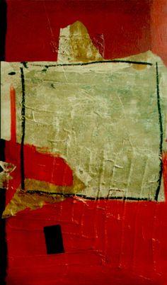 En Or - da série FRACTURAS (Pintura), 100x60 cm por Maria Antónia Santos óleo e técnica mista sobre tela