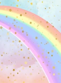 Children and Kid Backdrops Rainbow Wallpaper, Star Wallpaper, Kawaii Wallpaper, Wallpaper Backgrounds, Iphone Wallpaper, Watercolor Clouds, Goal Quotes, Monday Quotes, Quotes Motivation