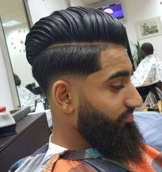 low cut taper fade