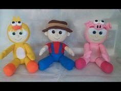 Os Pequerruchos ( bonecos de feltro)