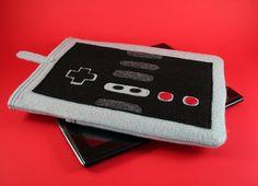 IPAD Super Mario Bros NES Nintendo Controller by bowlerhatbudgie, $32.50