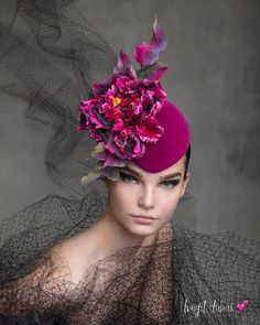 63 Super Ideas For Hat Fashion Philip Treacy Philip Treacy Hats, Crazy Hats, Millinery Hats, Cocktail Hat, Fancy Hats, Wedding Hats, Summer Hats, Hats For Women, Ladies Hats