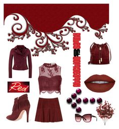 """""""red new year"""" by jes4me530 on Polyvore featuring Rebecca Minkoff, Vince Camuto, MuuBaa, Glamorous and Tom Ford"""