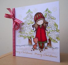 Stamps, Pencils and Paper!: Gorjuss Christmas....