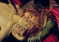 The Lamentation Over the Dead Christ_ (detail) Botticelli ca. 1490-92