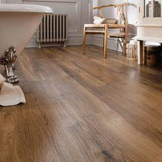 50 Luxury Vinyl Plank Flooring to Make Your House Look Fabulous Karndean Flooring, Vinyl Wood Flooring, Luxury Vinyl Flooring, Wood Vinyl, Luxury Vinyl Plank, Timber Flooring, Kitchen Hardwood Floors, Wooden Bathroom Floor, Vinyl Wood Planks