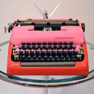 restored/refinished typewriter by Kasbah Moderne @Elizabeth Silbermann i think you'd love this!