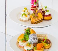 Delectable Afternoon Tea created by Anna Polyviou at the Shangri-La Hotel, Sydney.