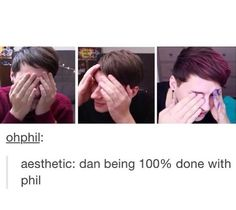 Me and my bff. I'm dan and she's phil