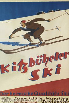 . Vintage Ski Posters, Ex Machina, Retro Illustration, Winter Sports, Nordic Skiing, Poster Prints, Vintage Hippie, Old Signs, Europe