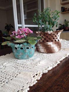 Vasinho de crochet